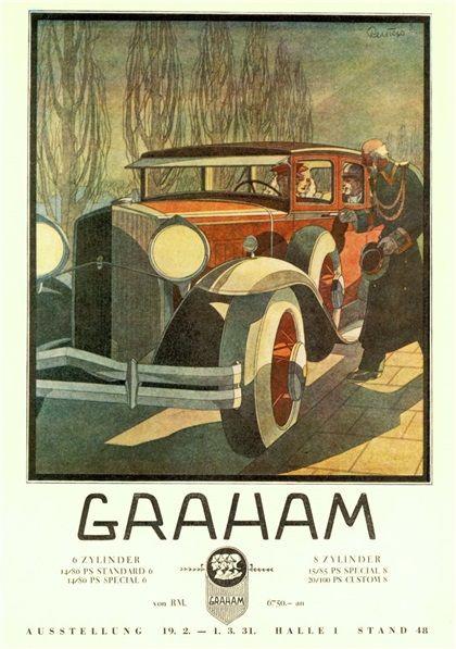 Graham (1930): Advertising Art by Bernd Reuters