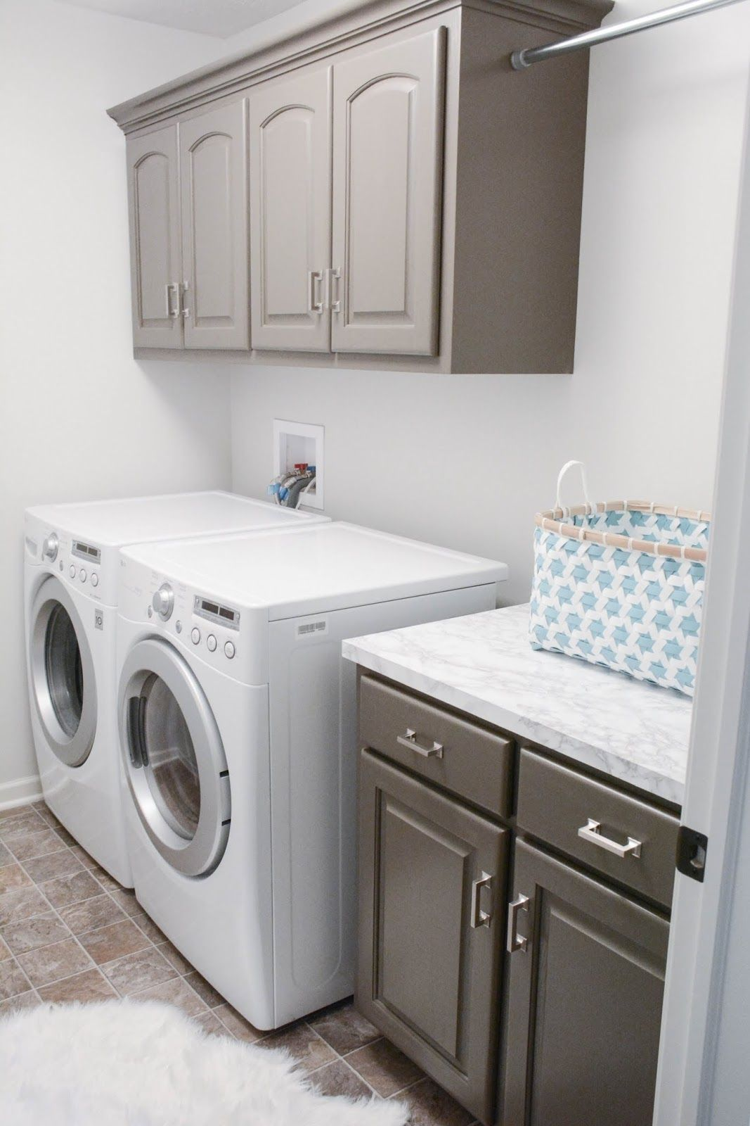 Revealed :: Laundry Room | Featuring Hickory Hardware Studio Pulls  (P3010 SN)