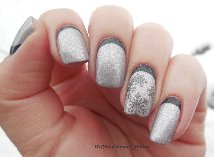 Silver Bells by Gothic Gala Lacquers www.gothicgalalacquers.com www.instagram.com/sparklepuss_polish  http://www.facebook.com/SparklepussPolish