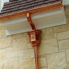 I Love A Nice Gutter Downspout And Scupper Box Even