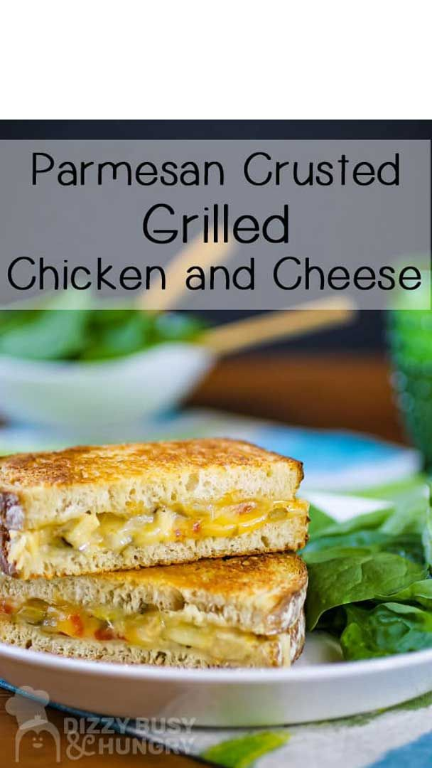 Parmesan Grilled Cheese Sandwich