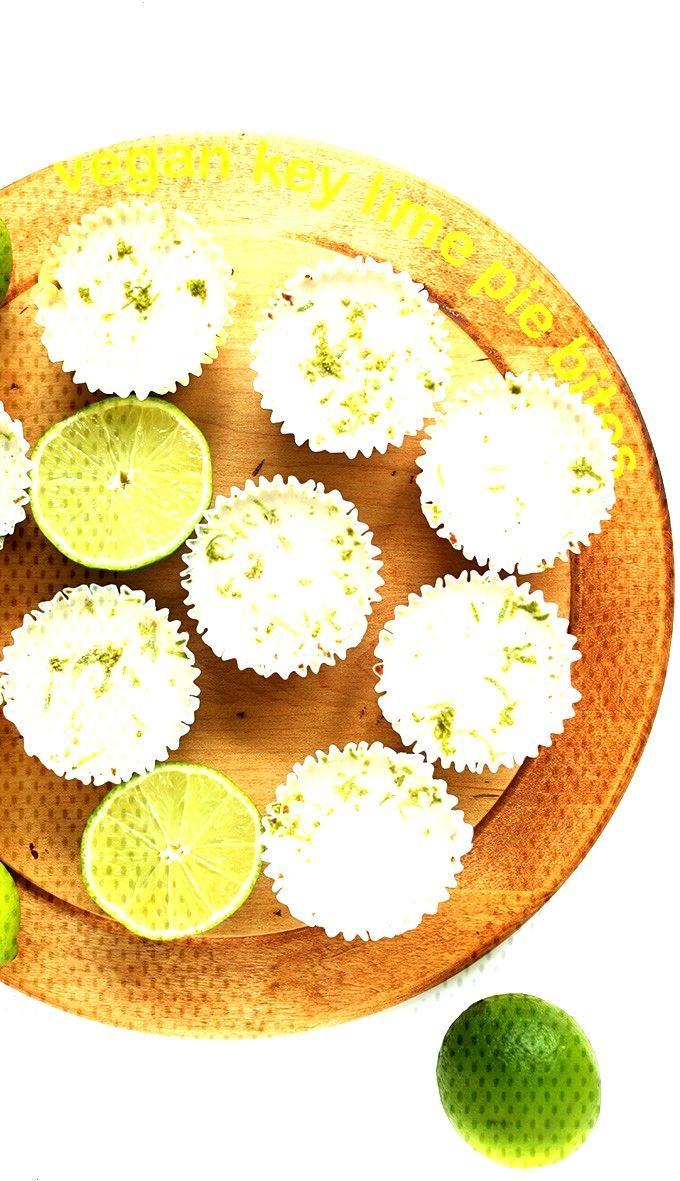 7-Ingredient Vegan Key Lime Pies -