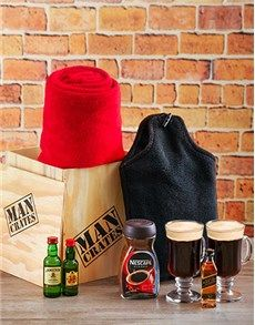 gifts and hampers man crates winter warmer man crate father s