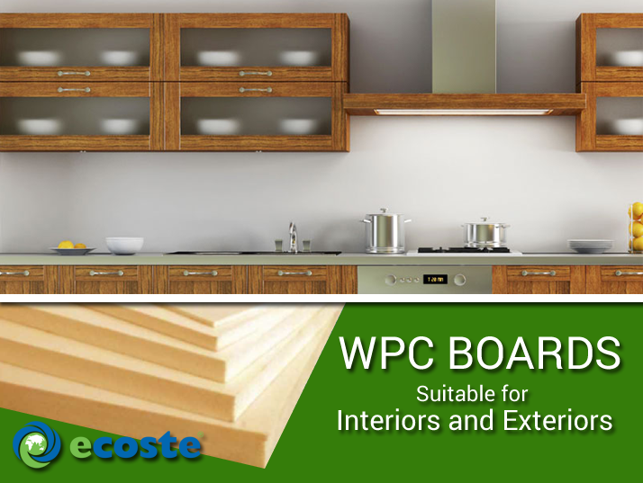 Select ‪#‎WPC‬ Boards for your ‪#‎Kitchen‬ & Enhance the Look of your Entire ‪#‎Home‬ - http://www.ecoste.in/wpc-board/