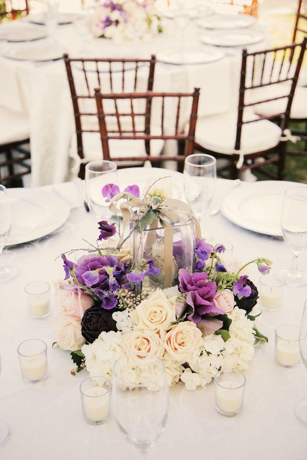 9de00957e36 purple modern rustic french country wedding