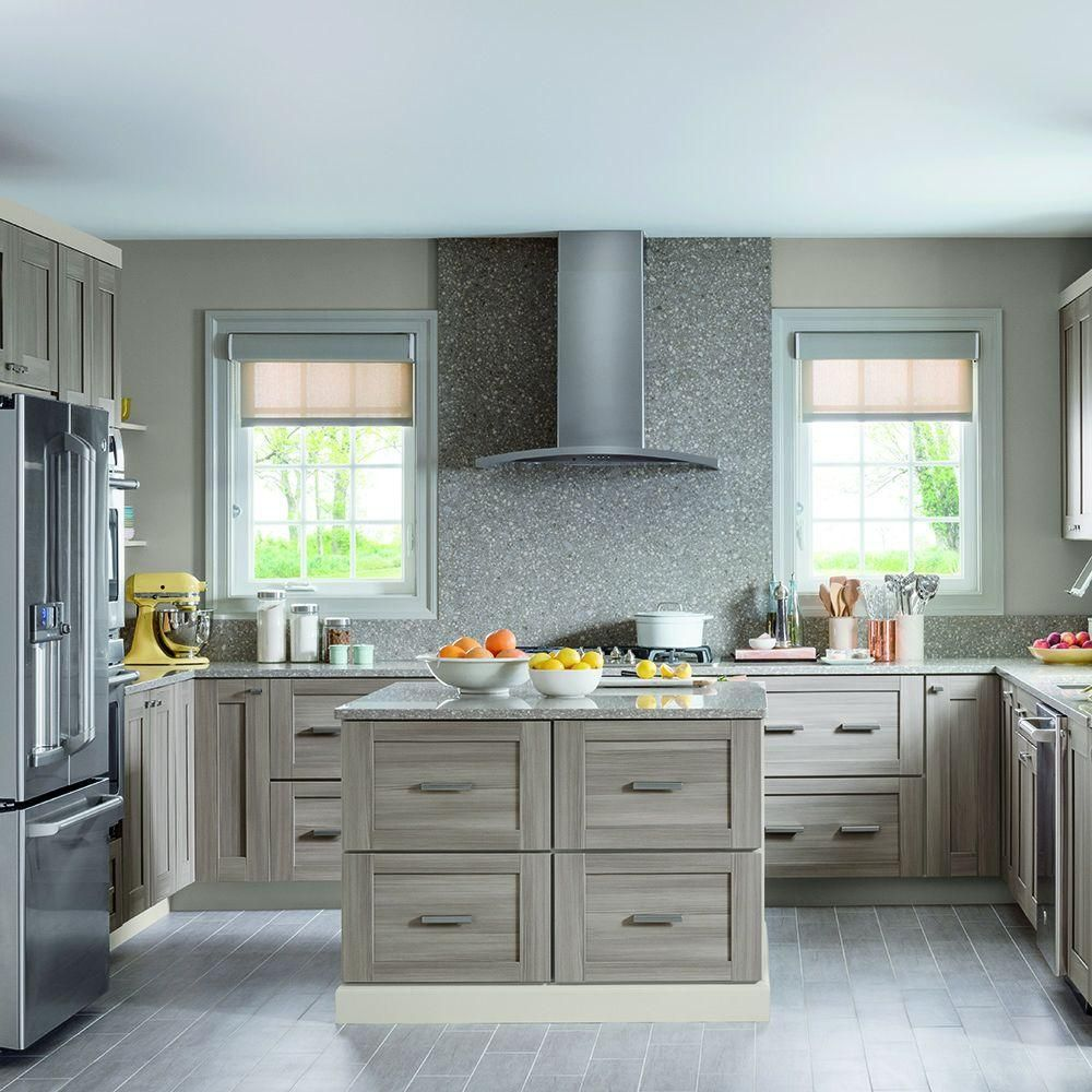 Martha Stewart Living 14.5x14.5 in. Cabinet Door Sample in Gardner ...