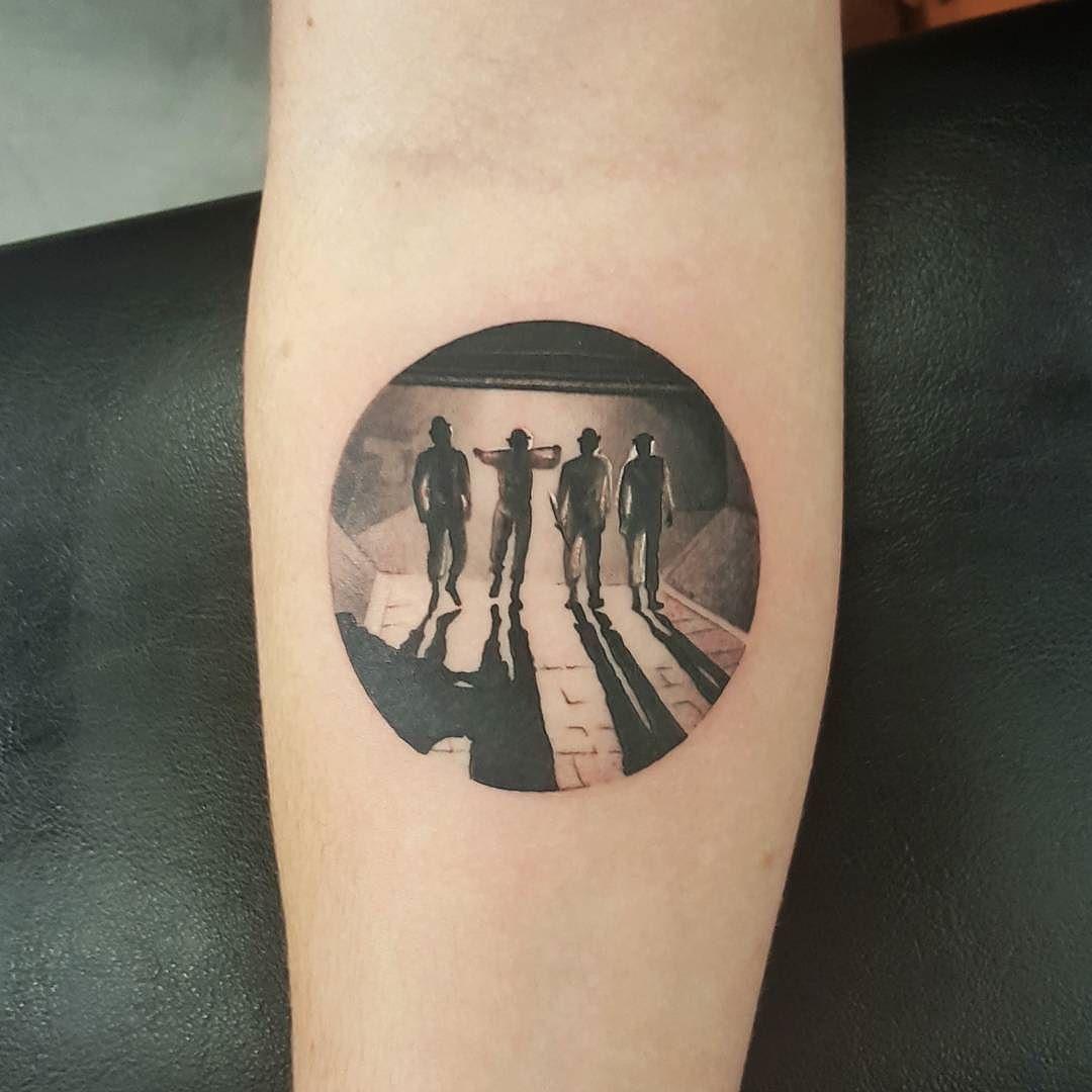 The Warriors Tattoo By Choc666 At Wa Ink Tattoo In Perth Western Australia Choc666 Merrickames Wainktatto Clockwork Orange Tattoo Movie Tattoos Ink Tattoo