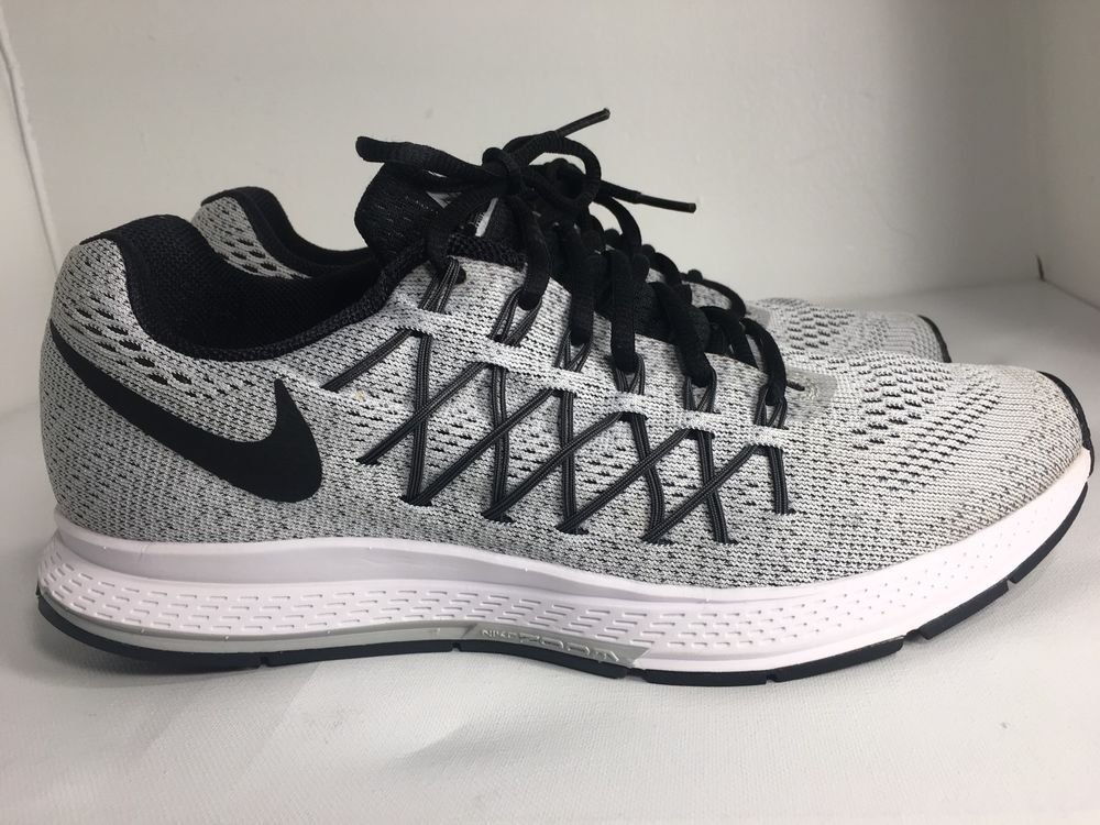 73266fff6db MENS NIKE AIR ZOOM PEGASUS 32 MEN S RUNNING SHOE 749340-002 PURE PLATINUM  Sz 9