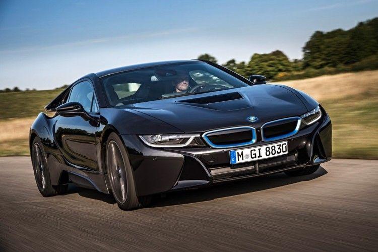 BMW-I8-スーパーカー - フロントスピード違反