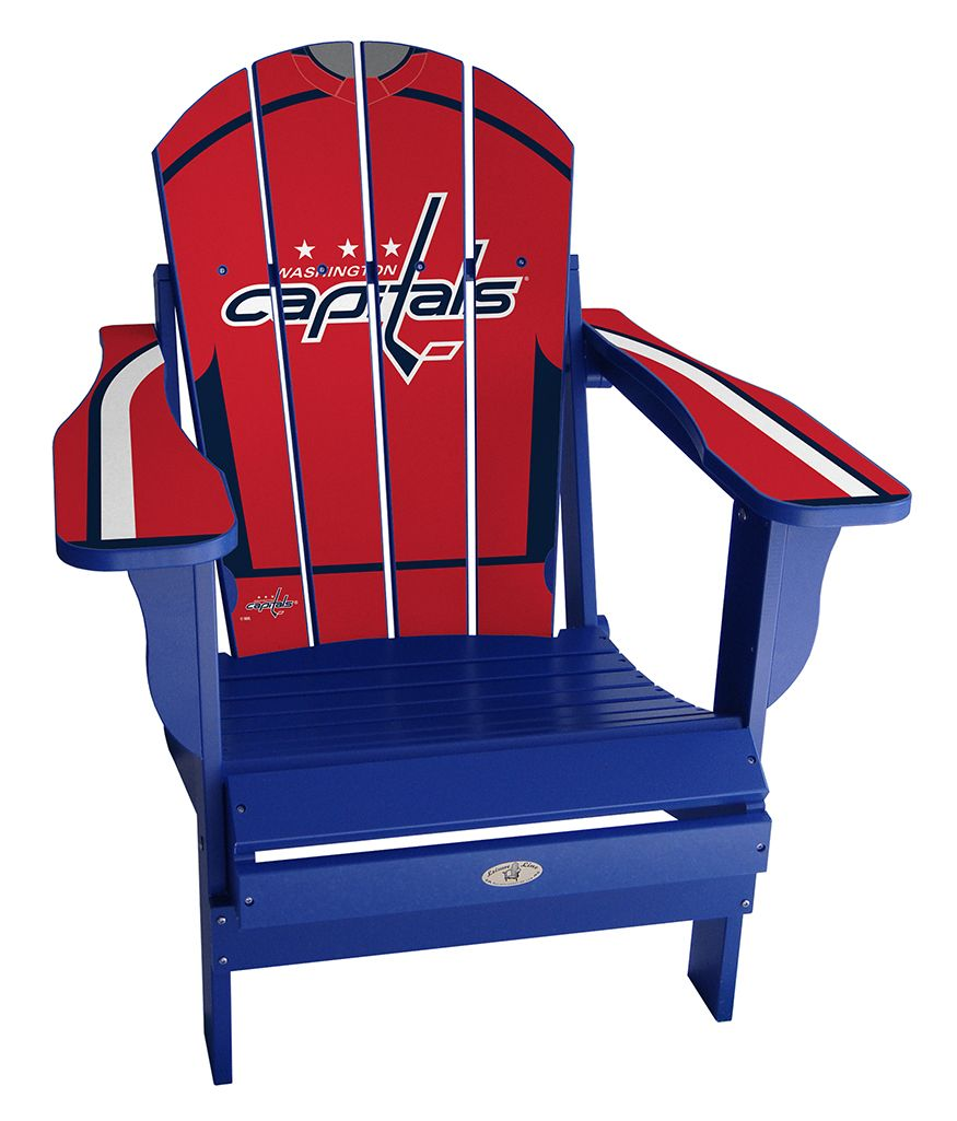 e65d0bb55f7 Custom Washington Capitals jersey chair!  nhl  hockey  washington  caps   capitals  ovechkin  playoffs  stanleycup  summer  outdoors