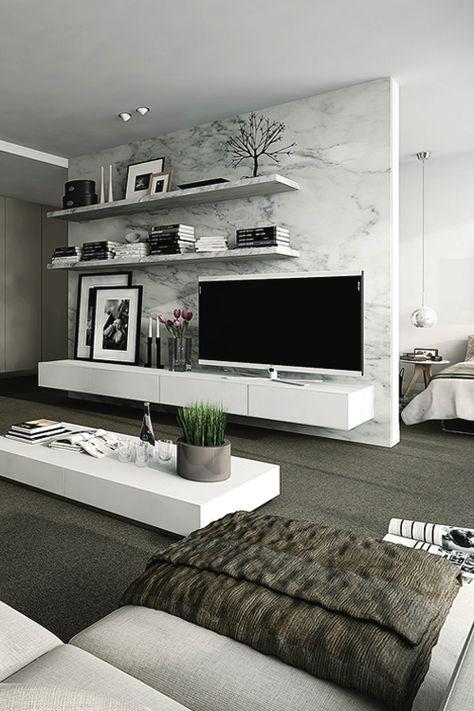 40 Tv Wall Decor Ideas Arquitetura E Decoracao Decoracao Da