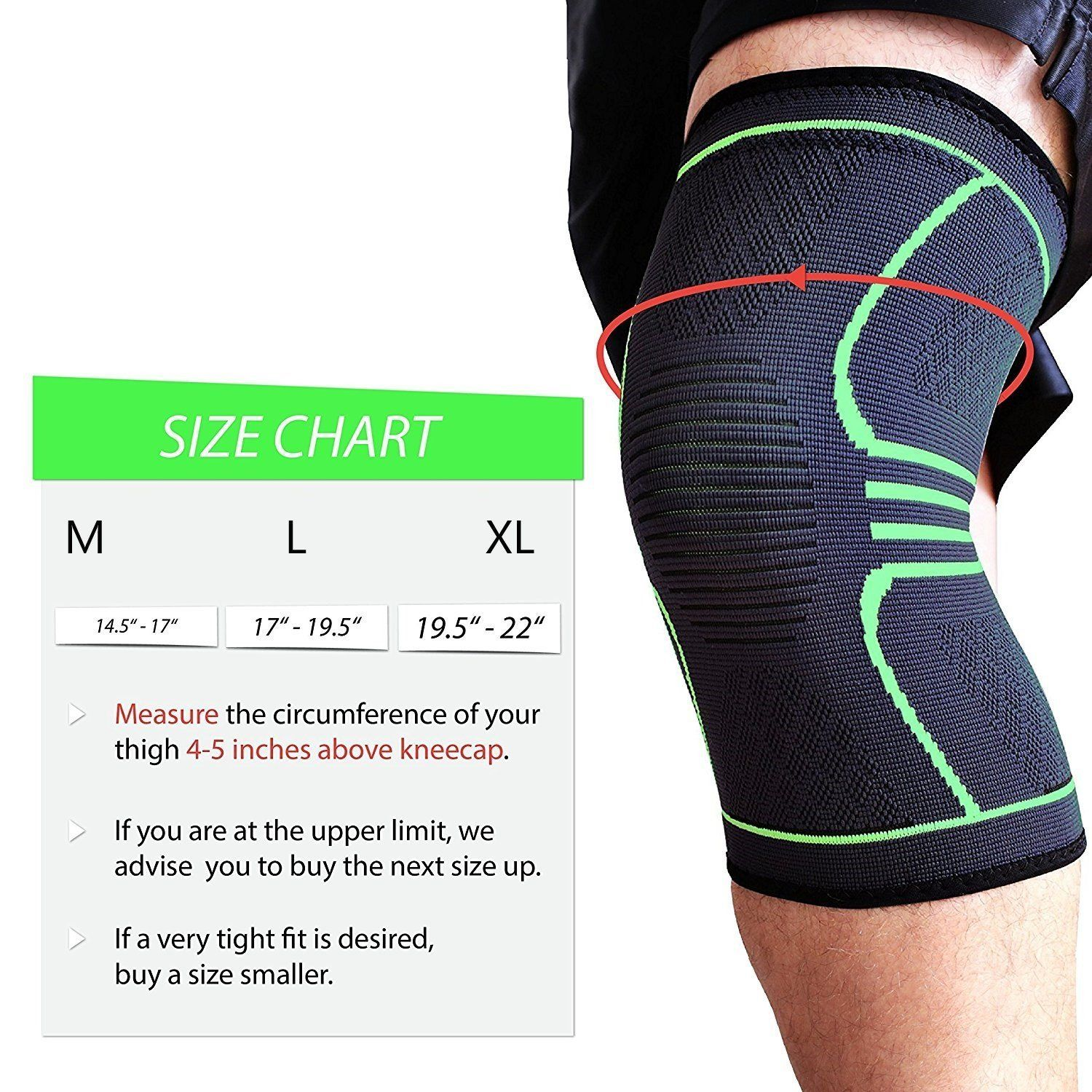 Knee Brace Compression Support Sleeve Lift And Rise Knee Brace Knee Compression Sleeve Braces