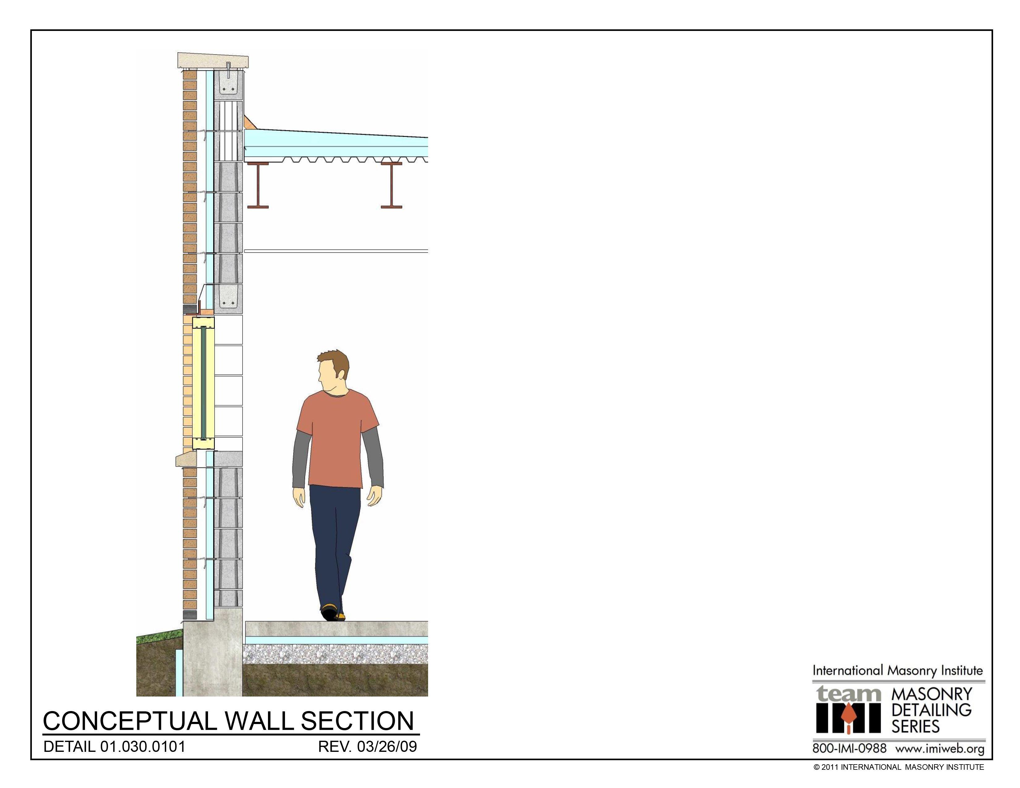 01 030 0101 Conceptual Wall Section Детали Pinterest