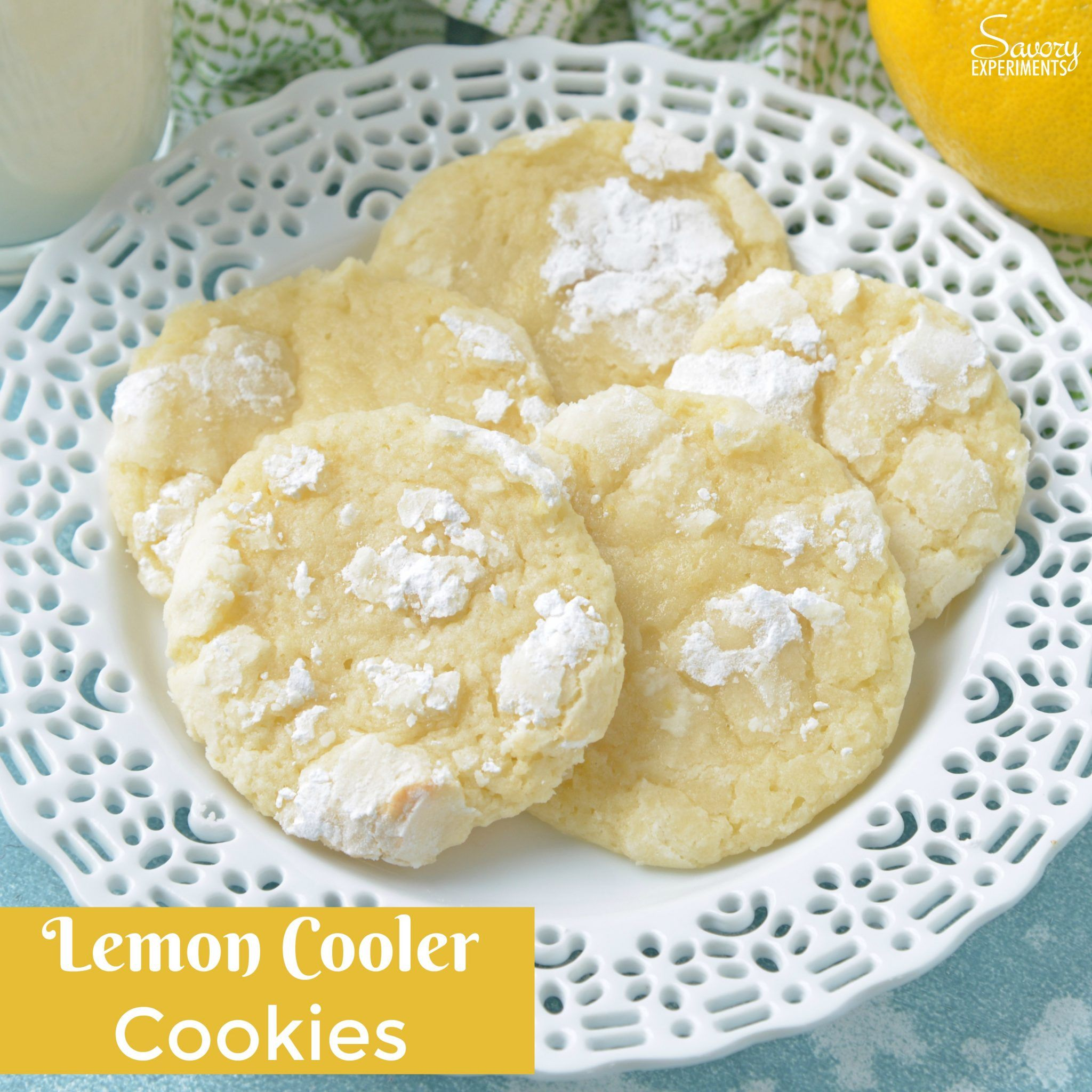 lemon cooler cookies also known as sunshine lemon coolers are a classic cookie recipe