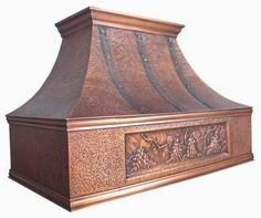 Hammered Copper Kitchen Range Hood Mscrh0018 From China