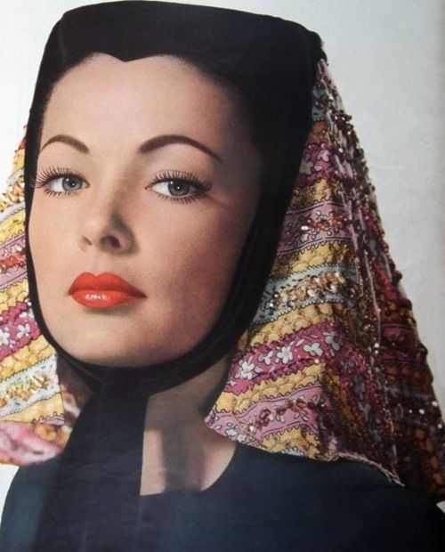 Nature Boy Gene Tierney Hooray For Hollywood Beauty