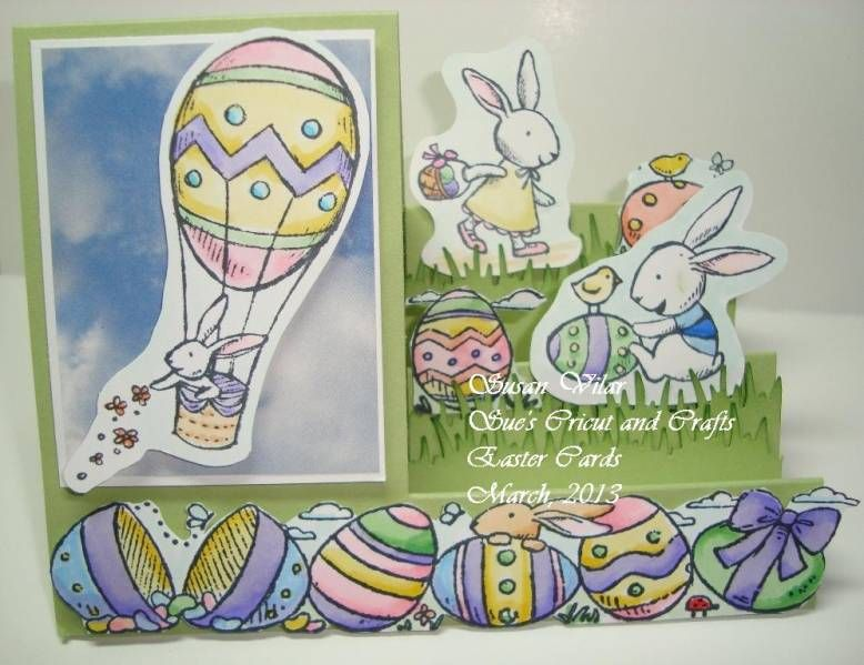 Everybunny Stair Step Fold Card