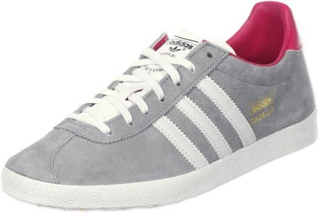 adidas Gazelle OG W chaussures gris rose