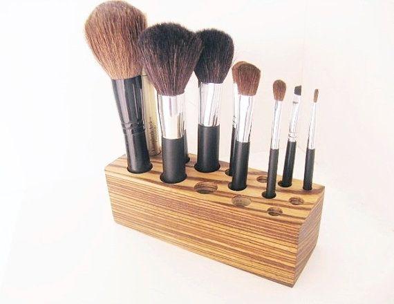 Makeup Organizer Gift For Women Gift For Girlfriend Brush Holders Hair Brush Makeup Brush Holder Make-up Brush Holder Makeup Brush
