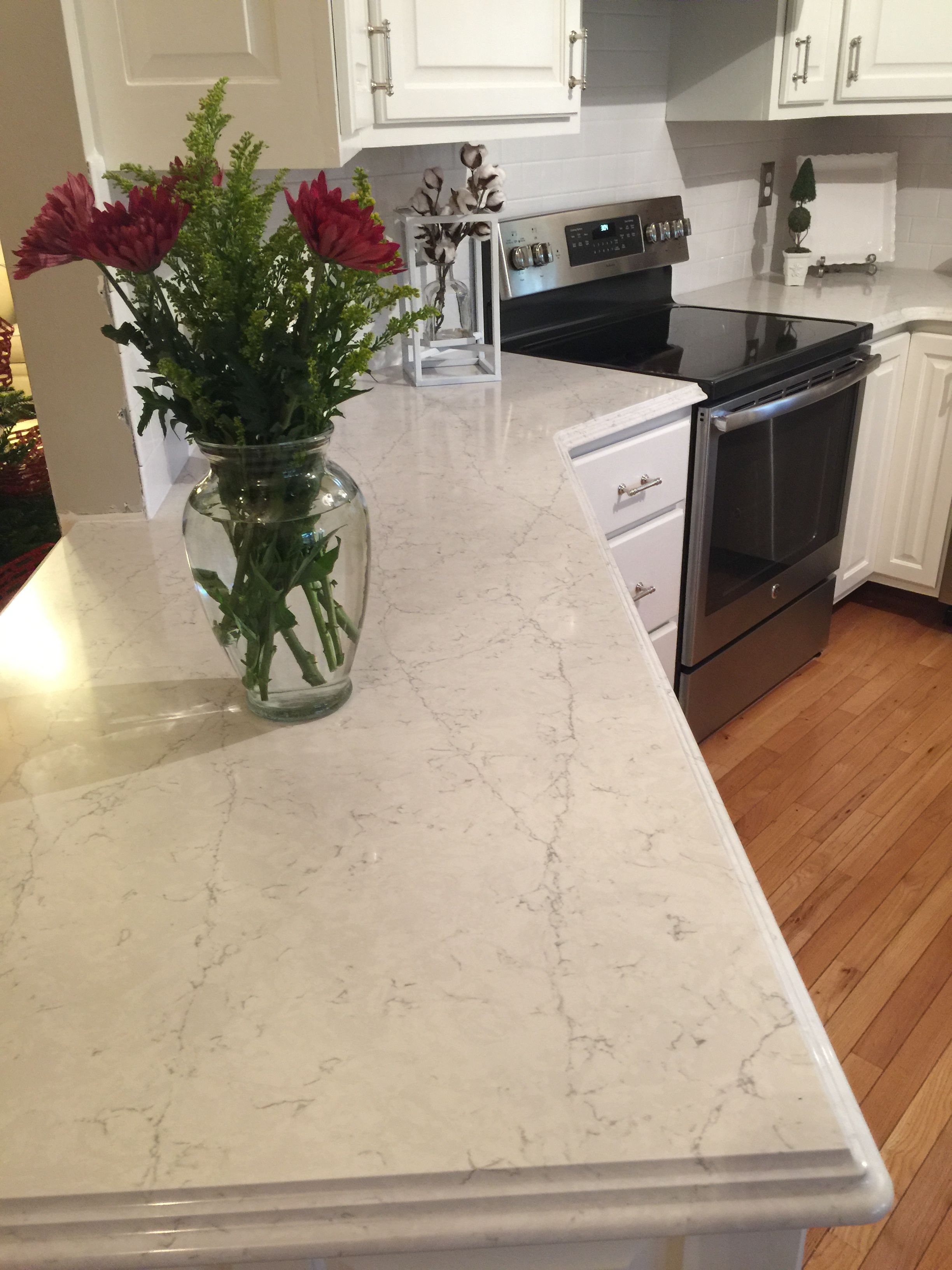 Silestone Pearl Jasmine Countertop Decorating Ideas