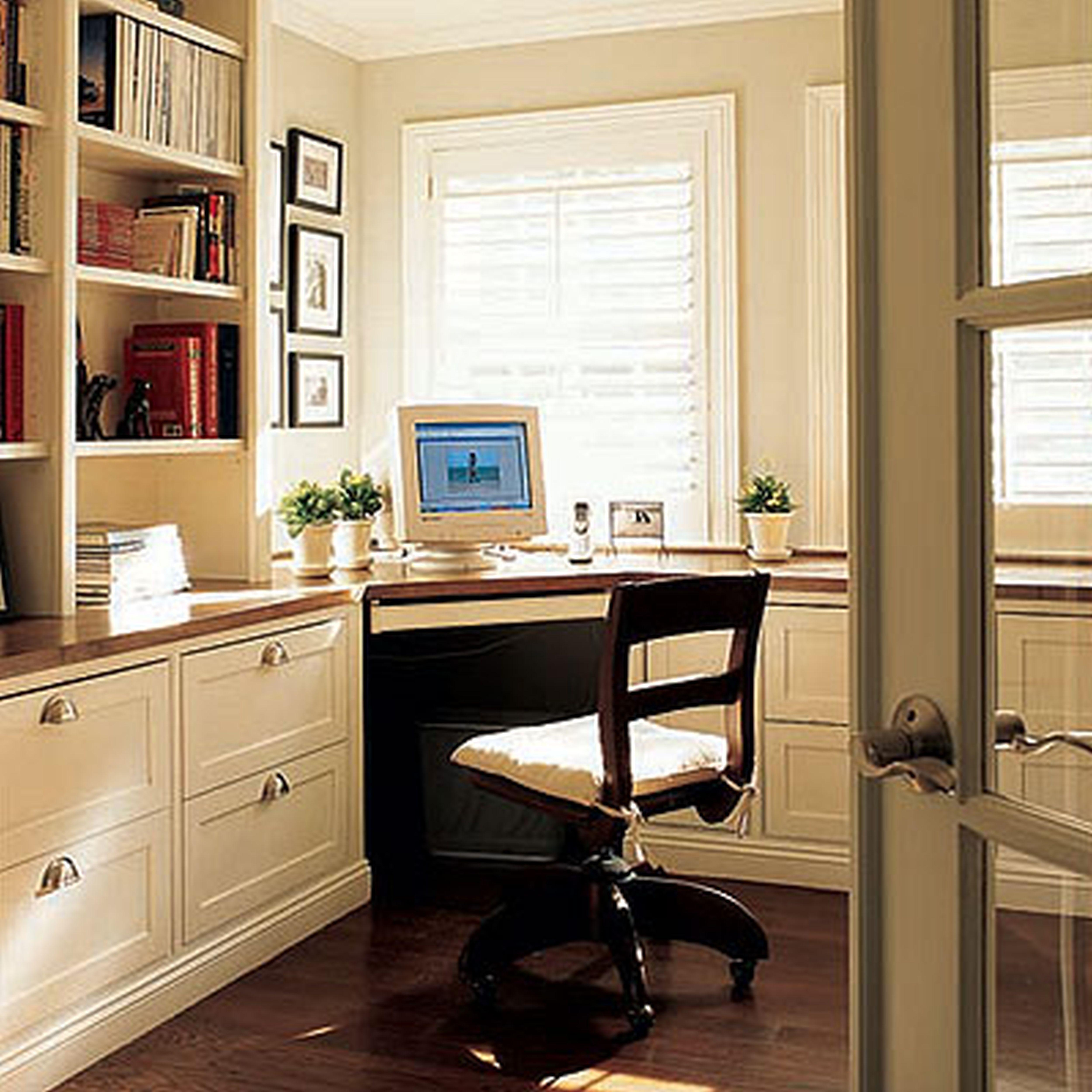 Kitchen cabinets desk workspace kitchen cabinets pinterest