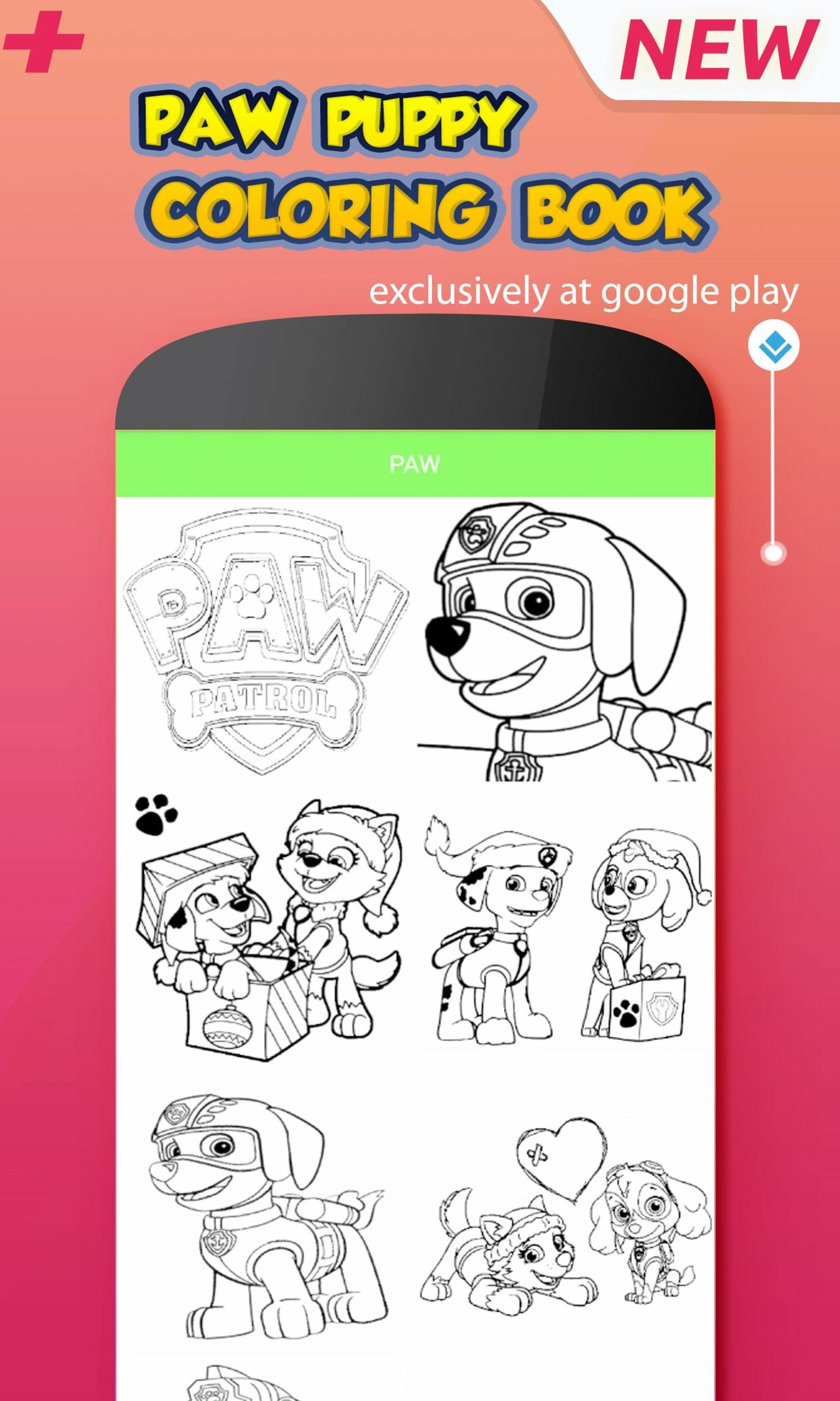 Paw Patrol Coloring Game Paw Puppy Pups Patrol Coloring Game For Android Apk Download In 2020 Paw Patrol Coloring Paw Patrol Coloring Pages Peppa Pig Coloring Pages