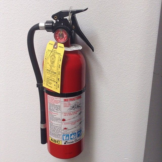Make Sure To Check The Expiration Date On Your Fire Extinguisher