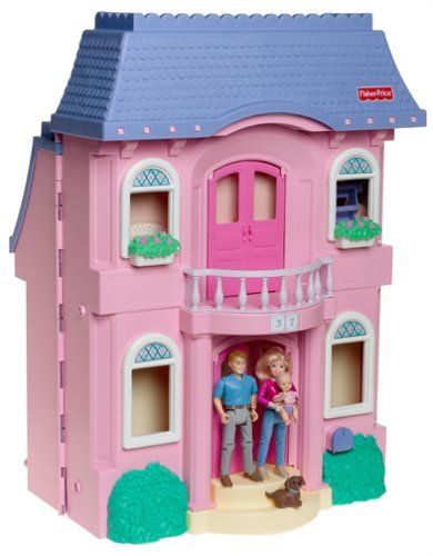 Fisher Price LOVING FAMILY Classic Dollhouse Fisher-Price http://www ...