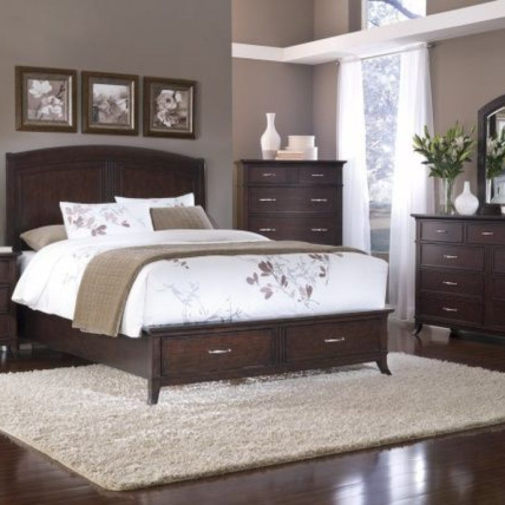 Tips For Creating A Romantic And Relaxing Master Bedroom Master Bedroom Ideas Dark F In 2020 Brown Furniture Bedroom Master Bedroom Paint Bedroom Paint Colors Master