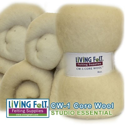 Core Wool Felting & Needle Felting Batt
