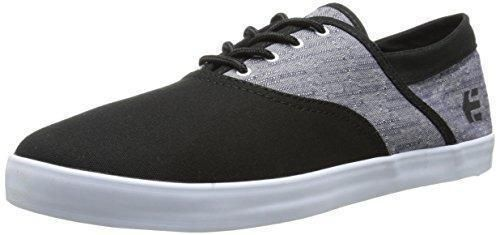Etnies Corby Zapatillas de Skateboarding, Hombre, Negro (Black/White), 46
