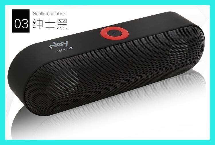 New Nby 18 Mini Bluetooth Speaker Portable Wireless Speaker Sound System 3d Stereo Wireless Speakers Portable Wireless Speakers Bluetooth Wireless Sound System