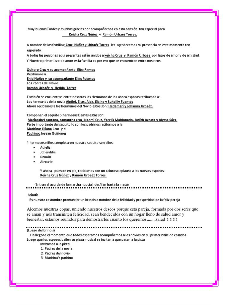 Scribd Es El Sitio Social De Lectura Y Editoriales Más Grande Del Mundo Maestro De Ceremonias Maestro De Ceremonias Boda Ceremonias