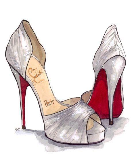 Dozens of Chic Shoes Illustration Pieces