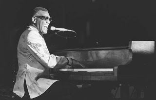 Ray Charles at the Cave in Vancouver (Sep. 19, 1974). Photo by John Mahler.