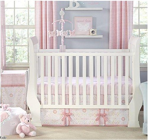 WILLOW - 5 PCS CRIB BEDDING SET (BUMPER NOT INCLUDED)