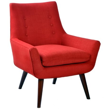 Retro Chair Arena Redhttpwwwfreedomfurnitureconzfurniture