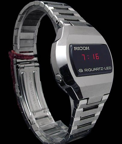 Ricoh Led Watch 3 Old Watches Cool Watches Led Watch