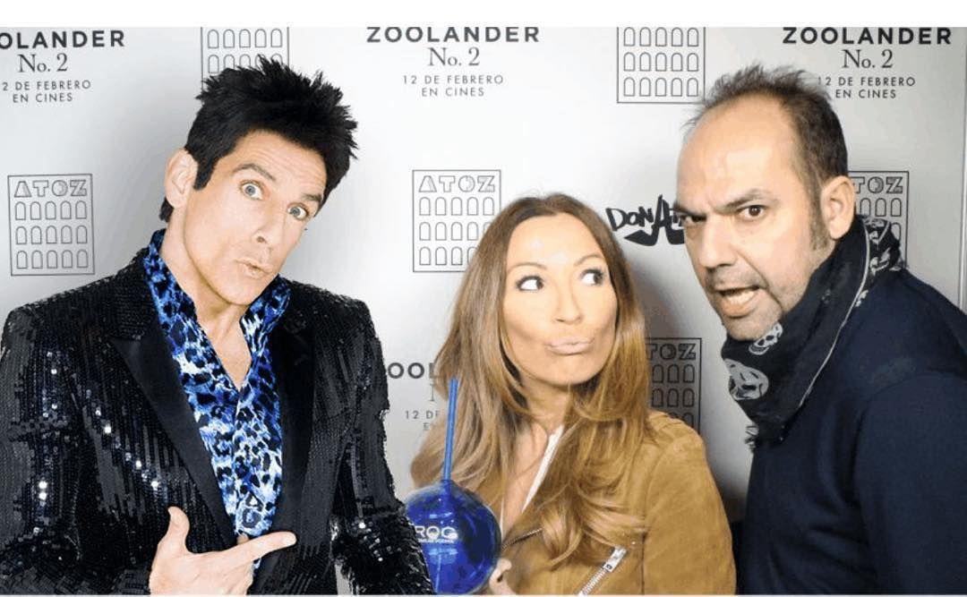 Zoolander 2. Gracias @cirocvodka por invitarme al preestreno de la segunda parte de la mítica Zoolander. Necesito practicar mi mirada #bluesteel by fede_dejuan