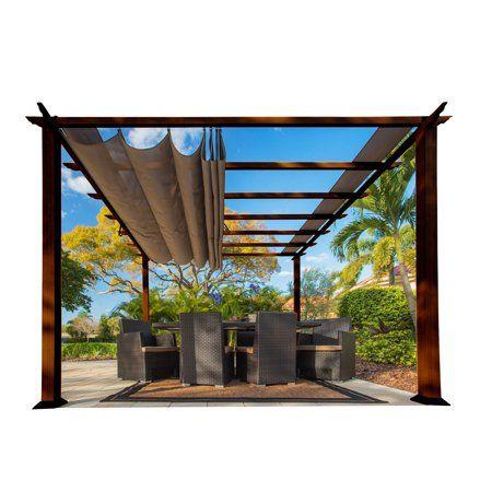 Patio & garden in 2020 Aluminum pergola, Pergola
