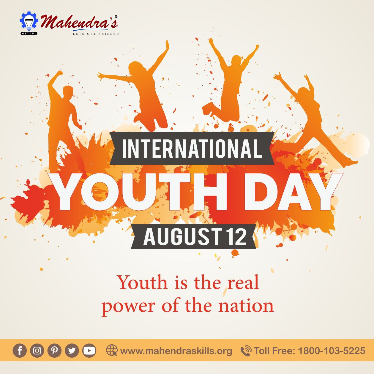 International Youth Day Iyd Is An Awareness Day To Draw