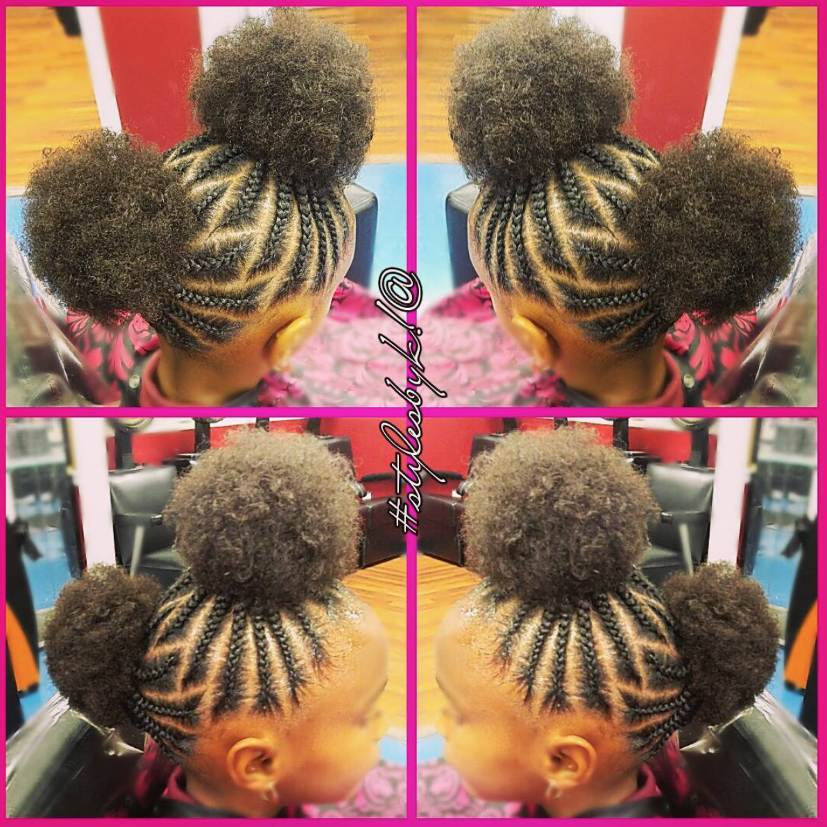 Adorable Afro Puffs By Kiabia87 Read The Article Here Http Blackhairinformation Com Hairstyle Gall Girls Hairstyles Braids Kids Hairstyles Girl Hairstyles