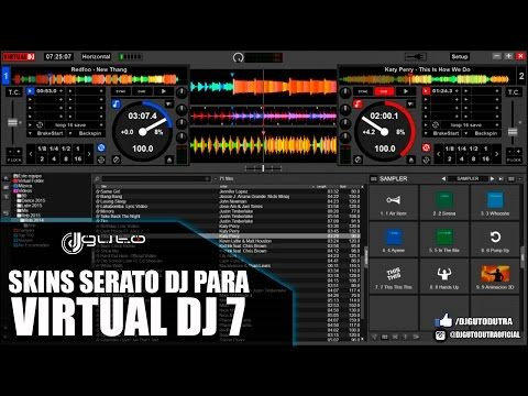 Skins Serato DJ Para Virtual DJ 8 [15/04/2016] - YouTube