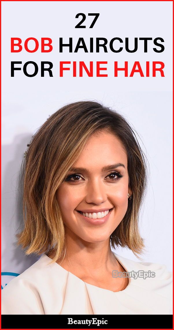 27 Mind-Blowing Bob Haircuts For Fine Hair