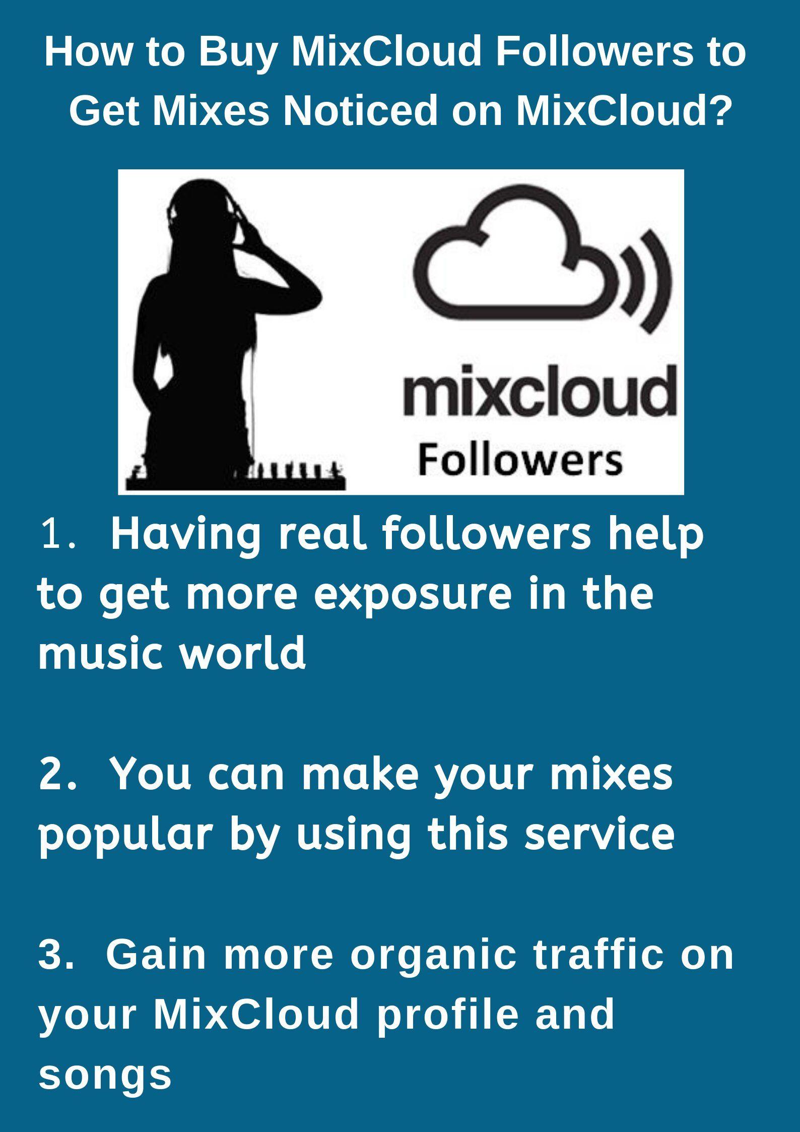 MixCloud is a great platform DJ Mixes, radio Listeners and artist