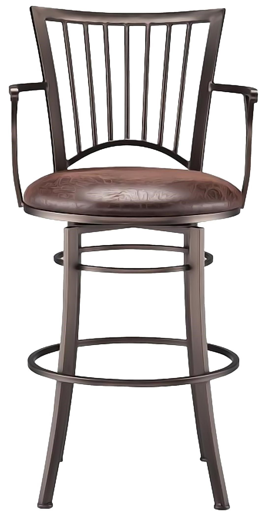 Bar Stools Accent Morgan Swivel Barstool By Cym Furniture At
