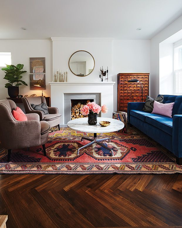Best 15 Living Rooms Perfect For Relaxed Entertaining Rugs 400 x 300