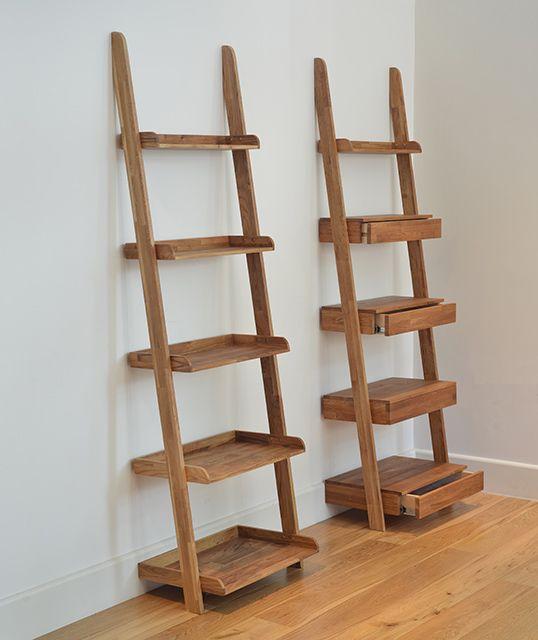Oak Ladder Shelf Ladder Shelf Oak Ladder Shelf Shelves