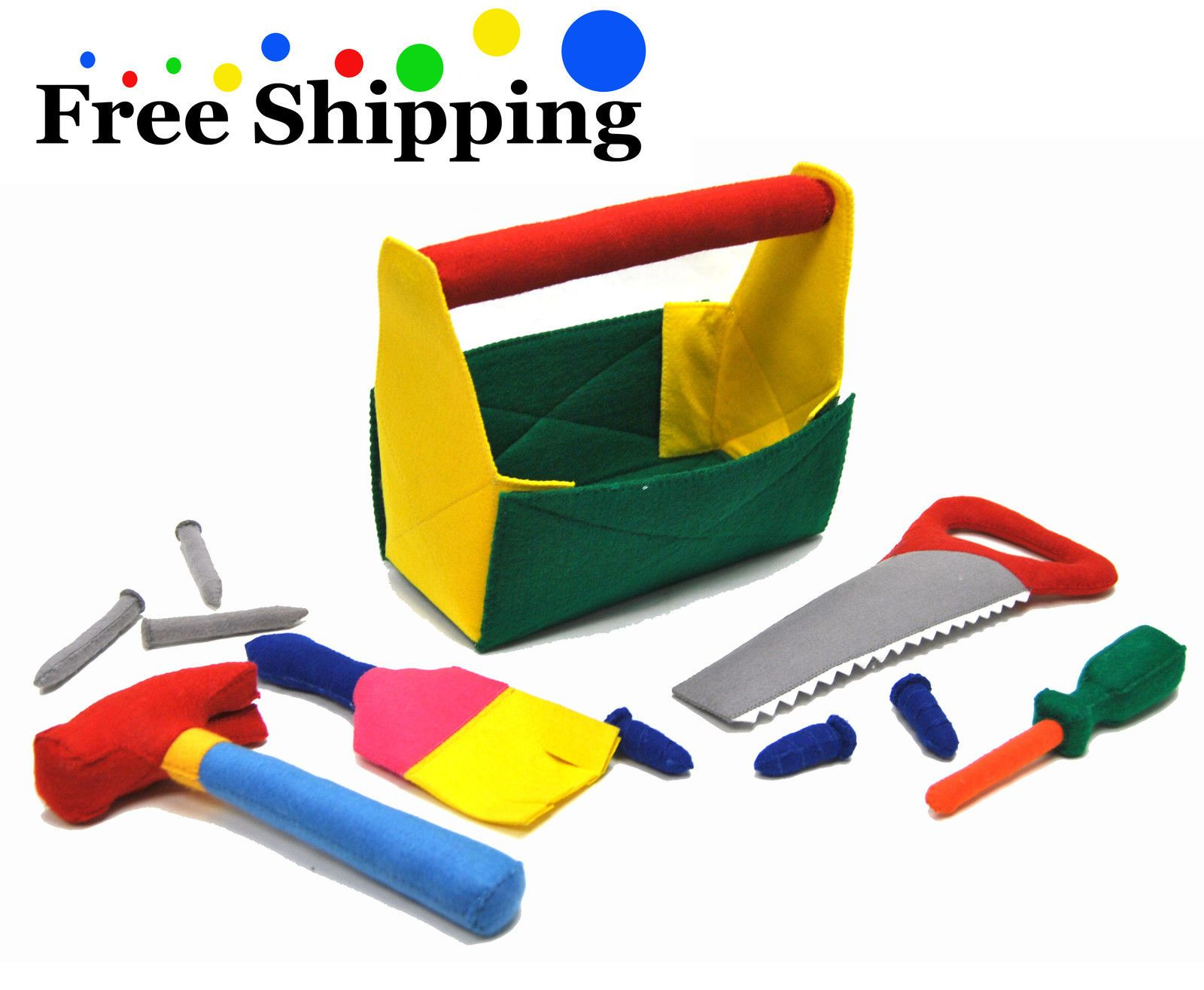 Kids Learning Construction Play Set Children Career Soft