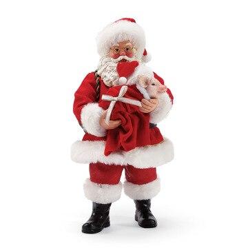 Department 56 Possible Dreams Pig In A Blanket Santa Figure 6003437
